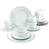 Creatable Blue Sky 18 Pieces Porcelain Dinnerware Set