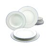 Creatable Blue Sky 12 Pieces Dinnerware Set