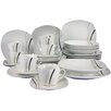 Creatable Square City Line 30 Pieces Dinnerware Set