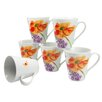 Creatable 6-tlg. Kaffeebecherset Happy Day