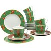 Creatable Country British Style 18-Piece Tea Set
