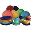Creatable 30-tlg. Kombiservice Top Colours aus Porzellan