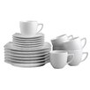 Creatable Dakar White 18 Piece Coffee Set