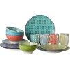 Creatable Mediterran 16 Piece Dinnerware Set