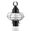 Norwell Lighting Cottage Onion 1 Light Outdoor Post Lantern