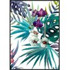 IncadoProductionA/S 'Tropic Flower' by The tropic Vibe Framed Painting Print