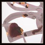 DwellStudio Cocoa Rose Framed Art