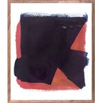 DwellStudio Rose Sapphire Framed Painting Print