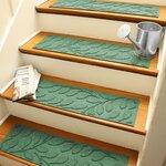 Aqua Shield Bluestone Brittany Leaf Stair Tread Wayfair
