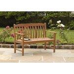 Vifah Bradley Wood Garden Bench Amp Reviews Wayfair