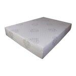 pure rest 10 quilted memory foam mattress reviews wayfair. Black Bedroom Furniture Sets. Home Design Ideas