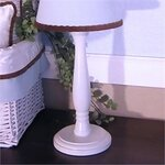 Cal Lighting Candlestick 27 Quot H Table Lamp With Empire
