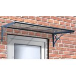 Palram Feria 10ft H X 9ft D Patio Cover Awning Sidewall
