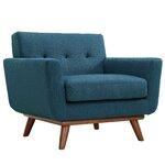 Mercury Row Reese Tufted Fabric Retro Side Chair Allmodern