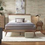 Moduluxe platform customizable bedroom set wayfair for Linda platform customizable bedroom set
