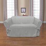 Sofa Box Cushion Slipcover Wayfair