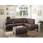 Beverly Fine Furniture Della Sectional Amp Reviews Wayfair