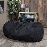 Wade Logan Aiden Foam Filled Bean Bag Sofa Amp Reviews Wayfair