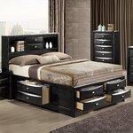 Hokku designs vivaldo panel bed reviews wayfair for Linda platform customizable bedroom set