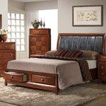 Andover mills conrad storage platform bed reviews wayfair for Linda platform customizable bedroom set