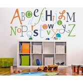 Alphabet Garden Designs Wall Stickers