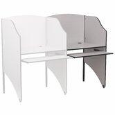 Flash Furniture School Study Carrels
