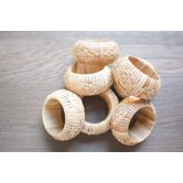 Couleur Nature Napkin Rings, Place Card Holders & Food Markers