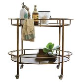 Creative Co-Op Serving Carts
