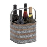 Woodland Imports Wine Bottle Carriers