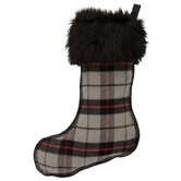 Wooded River Holiday Stockings