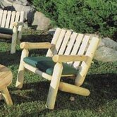 Rustic Natural Cedar Furniture Patio Lounge Chairs
