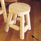 Rustic Natural Cedar Furniture Patio Bar Stools