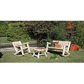 Rustic Natural Cedar Furniture Outdoor Conversation Sets