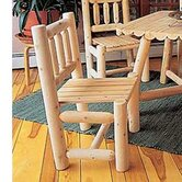 Rustic Natural Cedar Furniture Patio Dining Chairs