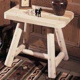 Rustic Natural Cedar Furniture End Tables