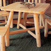 Rustic Natural Cedar Furniture Dining Tables