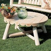 Rustic Natural Cedar Furniture Patio Tables