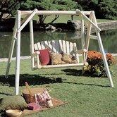 Rustic Natural Cedar Furniture Porch Swings