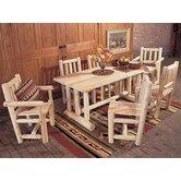 Rustic Natural Cedar Furniture Patio Dining Sets