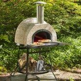 Rustic Natural Cedar Furniture Outdoor Pizza Ovens