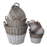 White x White Baskets, Boxes & Buckets
