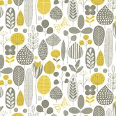 """Meadow 15' x 27"""" Floral and Botanical Wallpaper"""