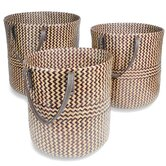 Foreign Affairs Home Decor Decorative Baskets, Bow
