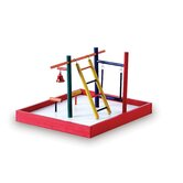 Prevue Hendryx Bird Play Stand & Playcenters