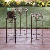 Zingz & Thingz Plant & Telephone Tables