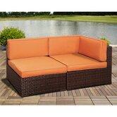 International Home Miami Patio Lounge Chairs
