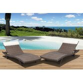 International Home Miami Patio Chaise Lounges