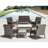 International Home Miami Outdoor Conversation Sets
