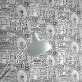 "Londinium 33' x 20.5"" Scenic Wallpaper"