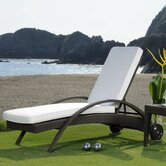 Hospitality Rattan Patio Chaise Lounges